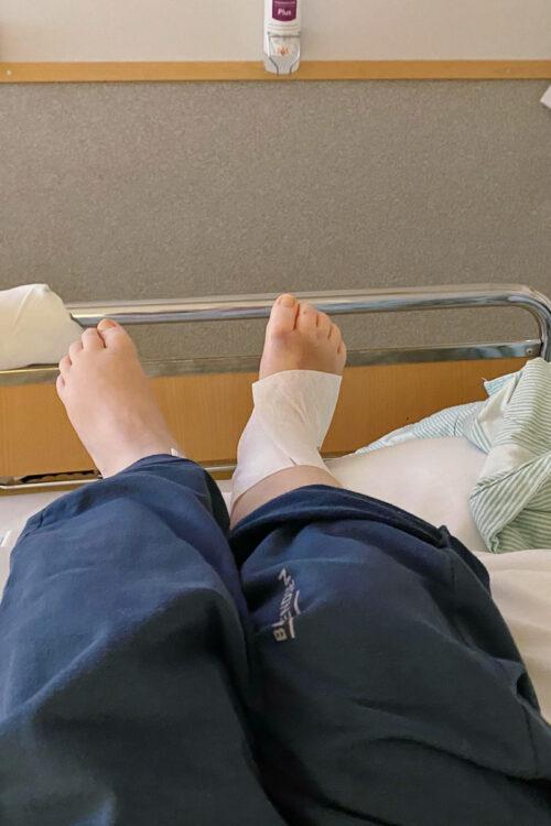 En blandad sjukhushelg – Del 1