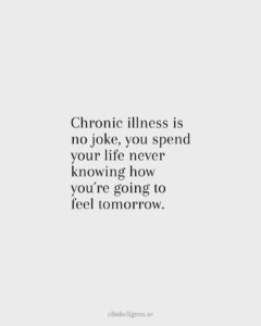 Chronic illness ovissheten
